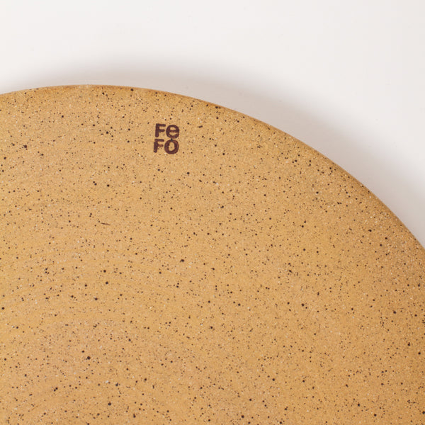 Serving Platter - Natural White Speckle