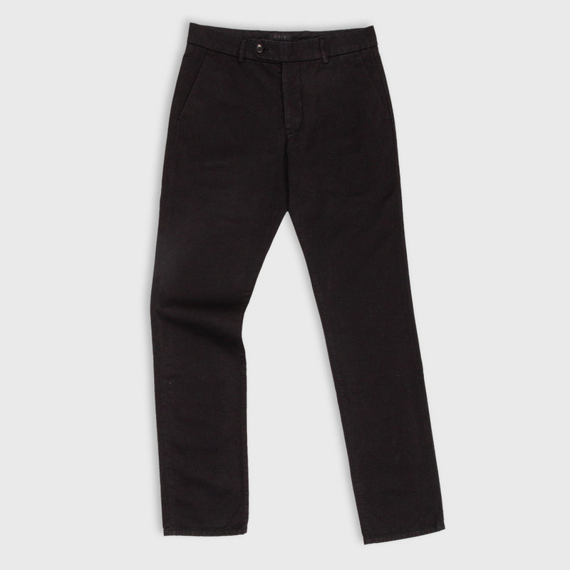 UNIS Gio Stretch Black Chino Pants