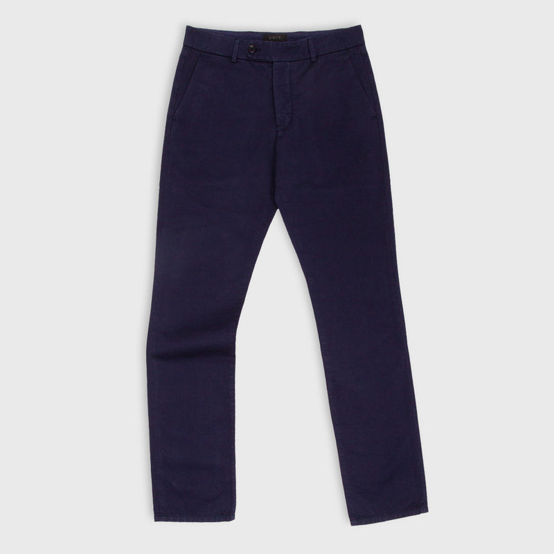 UNIS Gio Stretch Navy Chino Pants