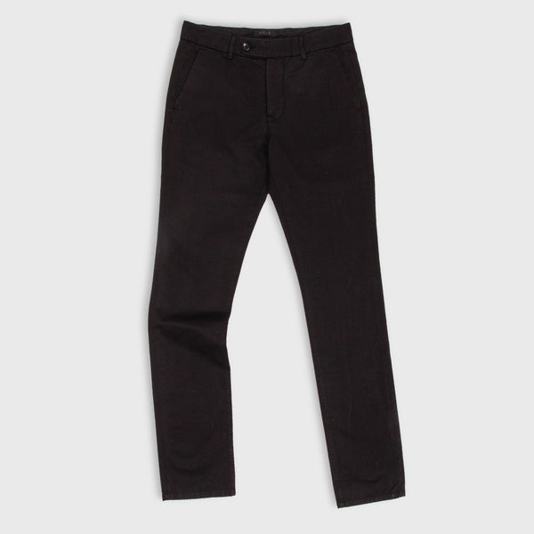 UNIS Gio Skinny Stretch Black Chino Pants
