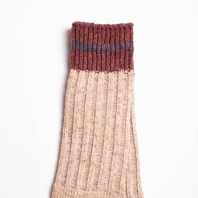 Anonymous Ism - Go Hemp Nep Crew Socks - Beige