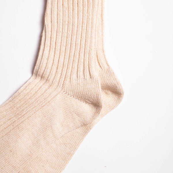 Go Hemp OC Crew Socks - Natural