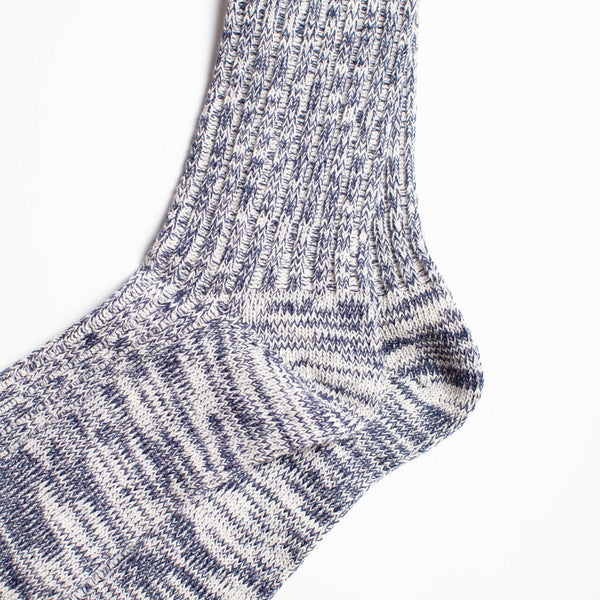 Go Hemp OC Crew Socks - Navy