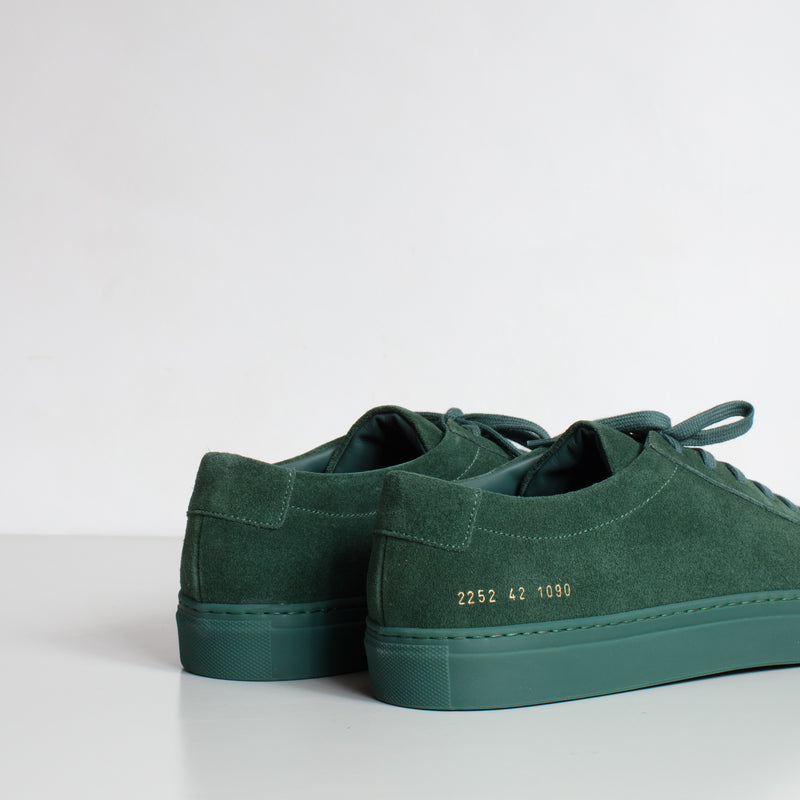 Achilles Low Suede - Green