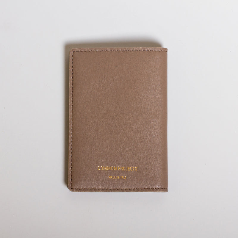 Common Projects - Folio Wallet - Warm Grey