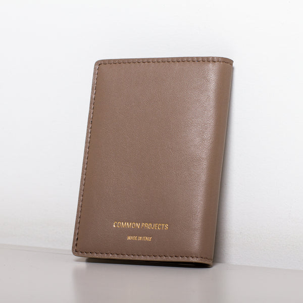 Common Projects - Card Holder Wallet - Warm Grey