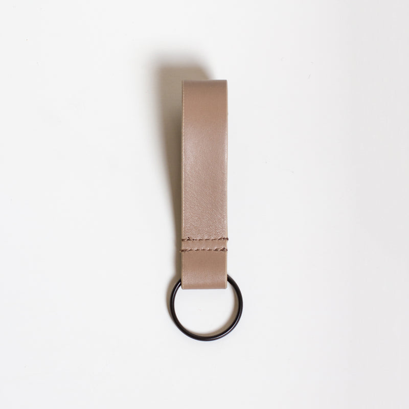 Simple Key Ring - Warm Grey