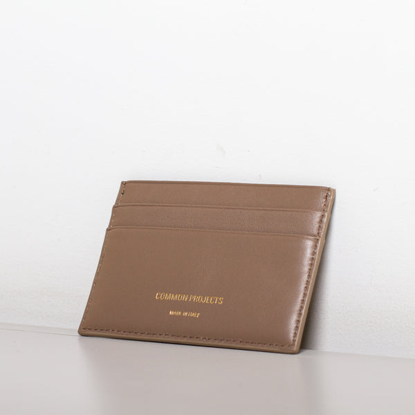 Common Projects - Multi Card Holder - Warm Grey