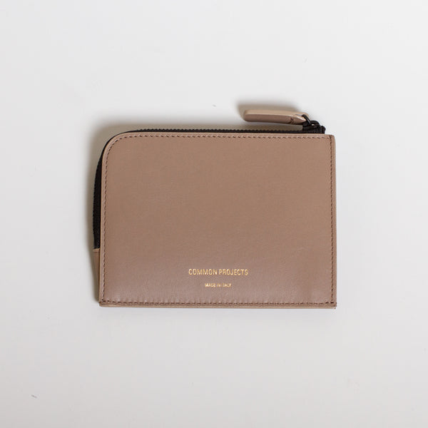 Zipper Wallet - Warm Grey