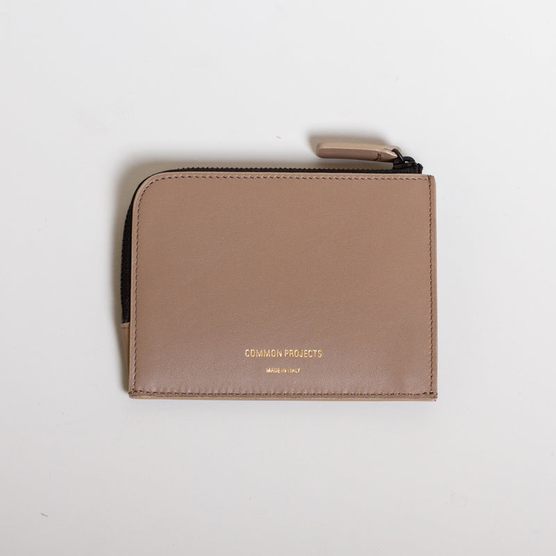 Common Projects - Zipper Wallet - Warm Grey