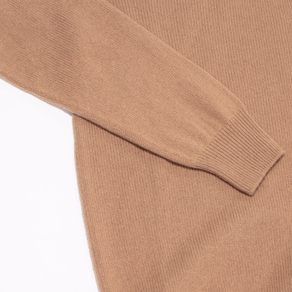 Cashmere Turtleneck Sweater - Caramel