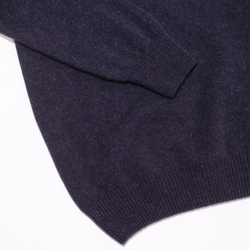Cashmere Turtleneck Sweater - Notte