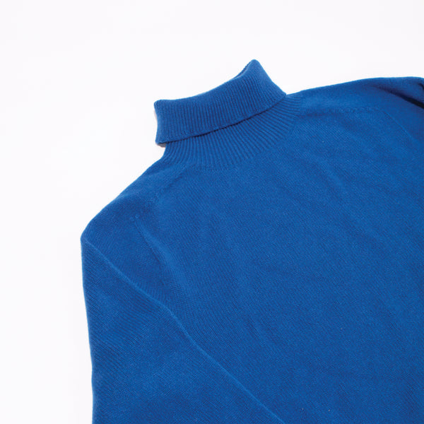 Cashmere Turtleneck Sweater - Royal