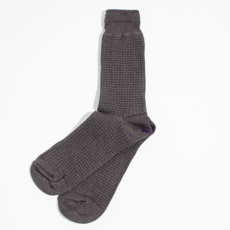 Thermal Crew Socks - Gray