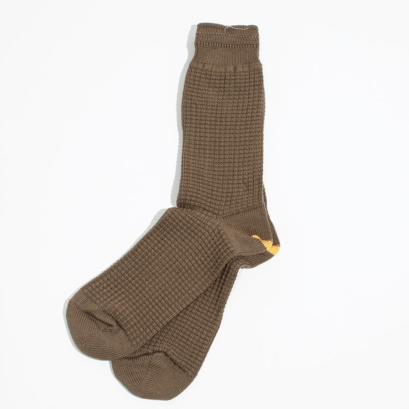 Thermal Crew Socks - Olive