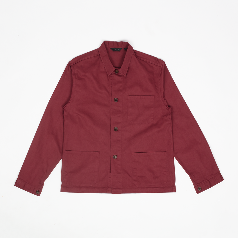 Unis New York - Chore Jacket - Burgundy