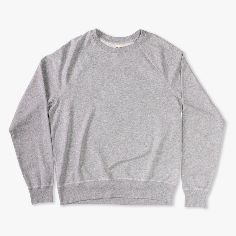 Eli Raglan Sweatshirt - Heather Grey