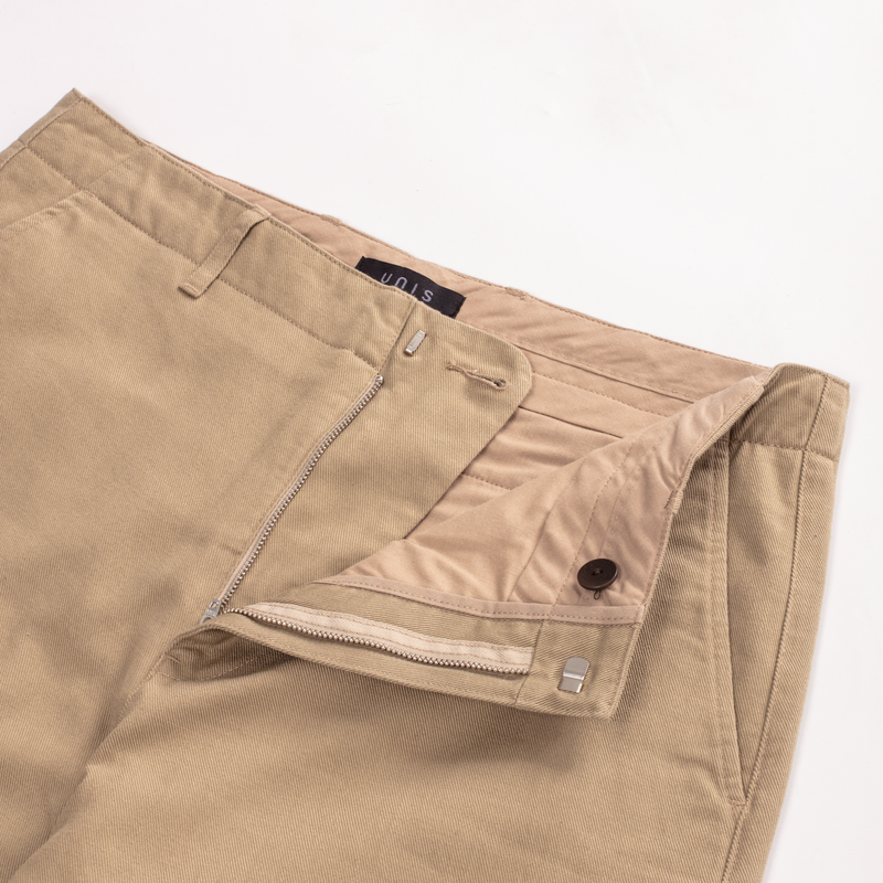 Unis New York - Ike Uniform Pant - Beige Twill