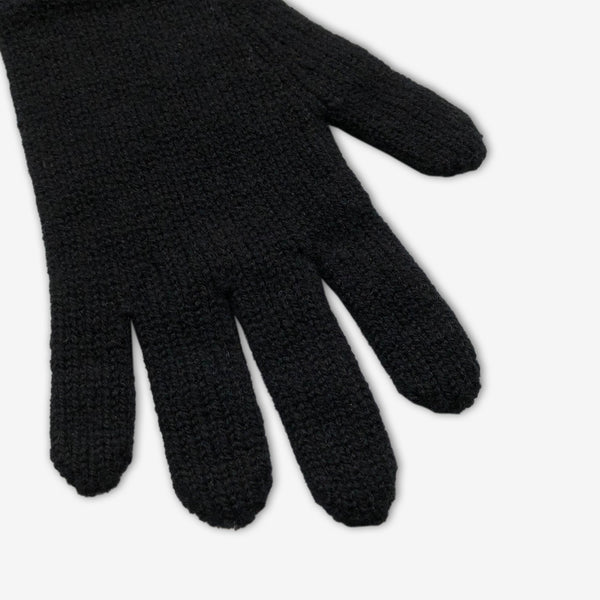 Lambswool Classic Gloves - Black