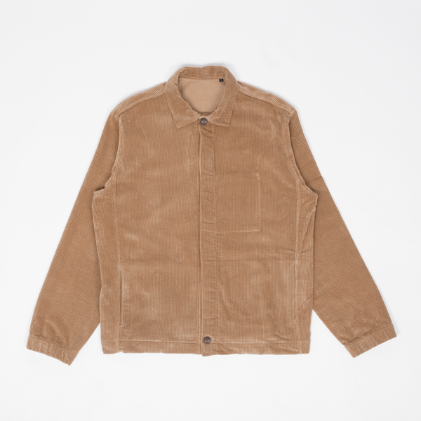 Unis New York - Oli Bomber Jacket - Khaki Wide Wale Corduroy