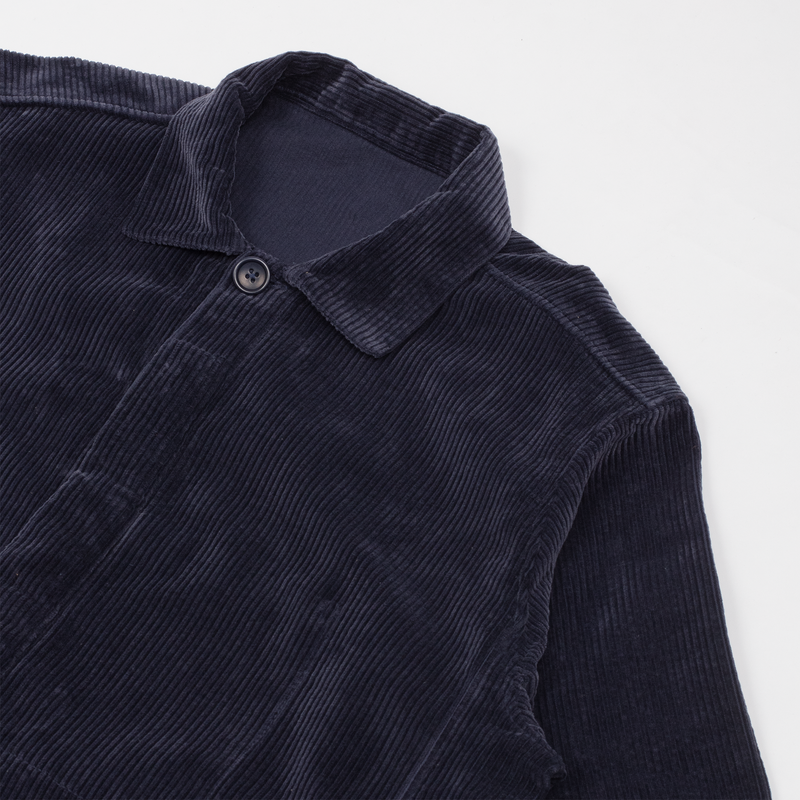 Unis New York - Oli Bomber Jacket - Navy Wide Wale Corduroy