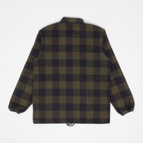 Rocky - Olive Buffalo Plaid