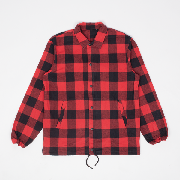 Unis New York - Rocky Coach Jacket - Red Buffalo Plaid