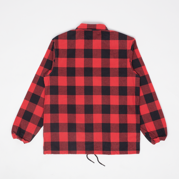 Rocky - Red Buffalo Plaid