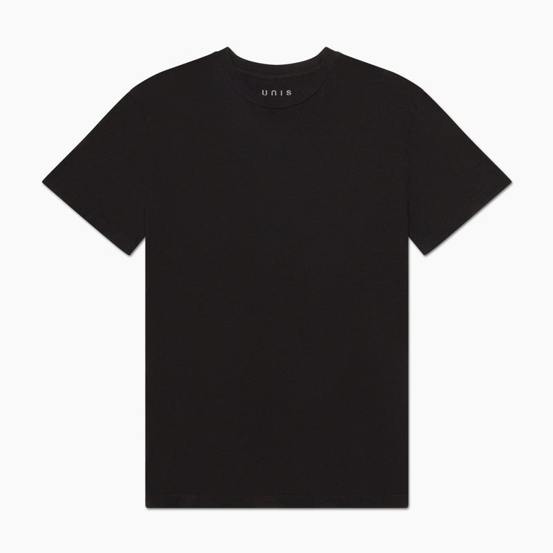 unis lee tee shirt black