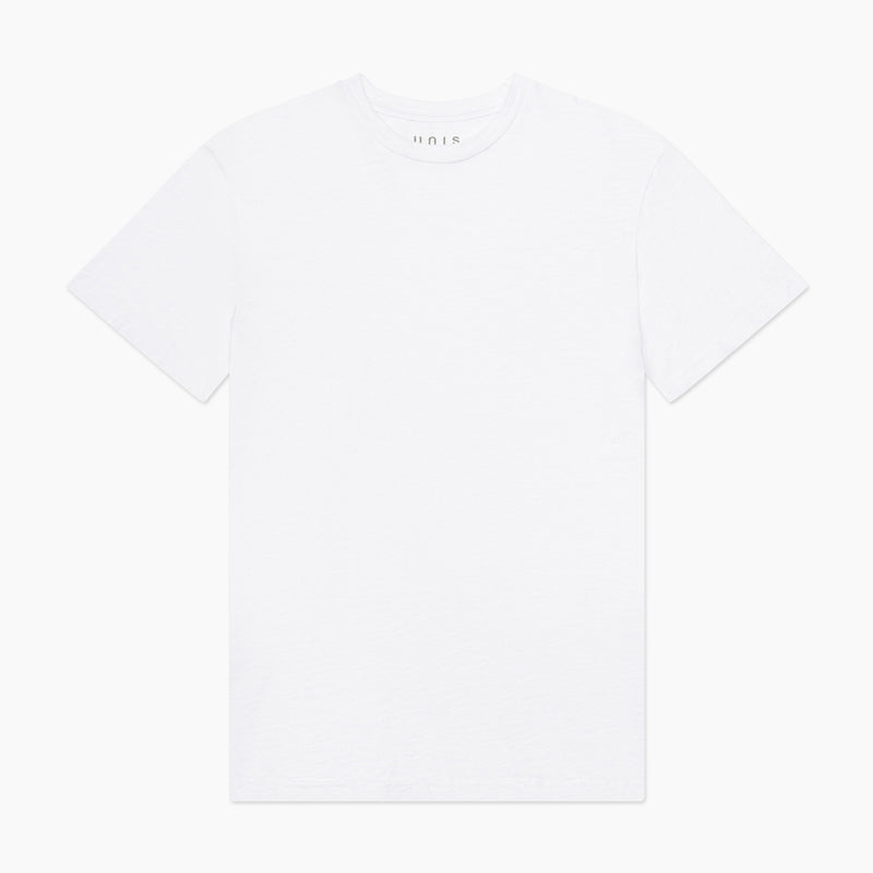unis lee tee shirt white