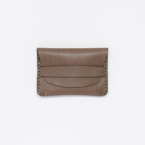 Makr - Flap Slim Wallet - Charcoal at Unis New York