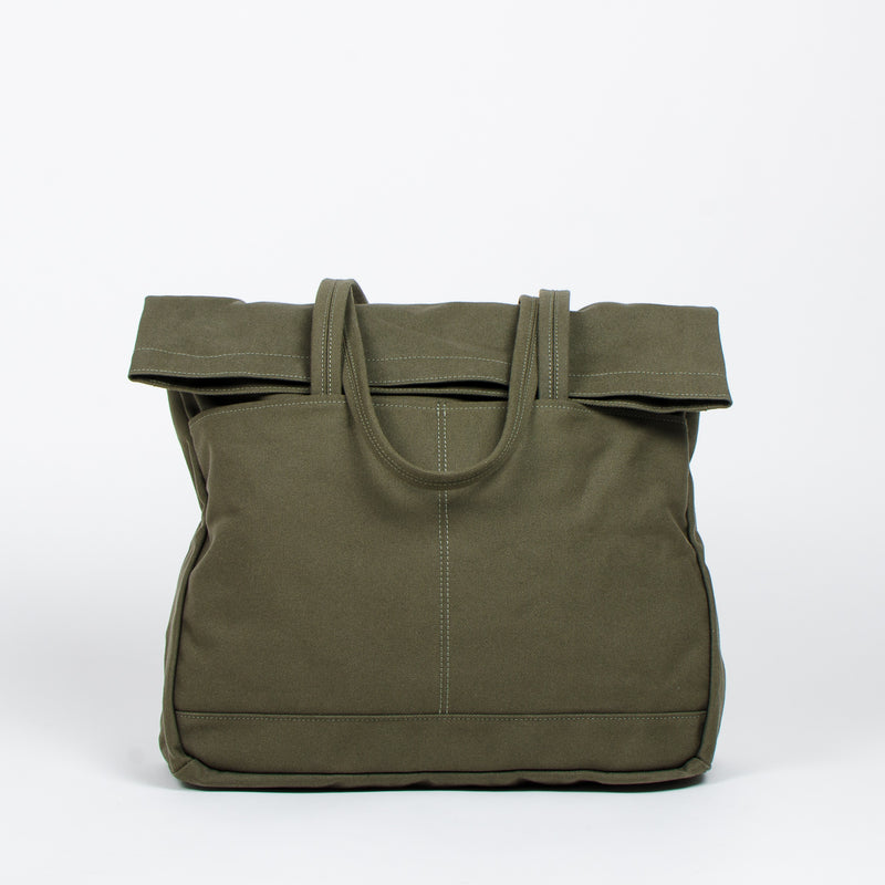 Makr - Fold Weekender Revised - Army Green at Unis New York
