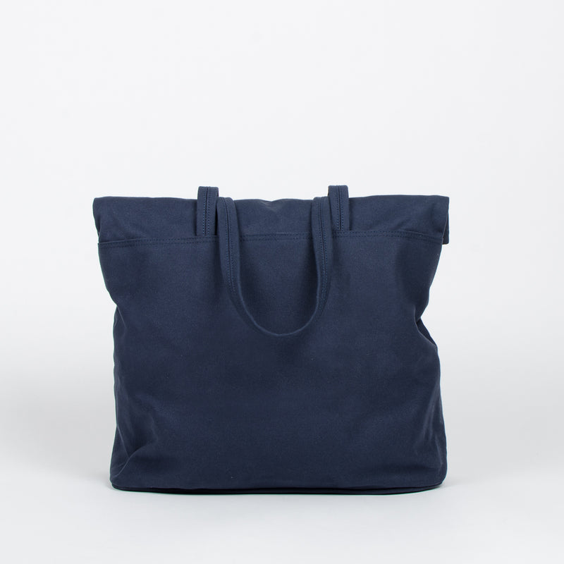 Makr - Fold Weekender Revised - Navy at Unis New York