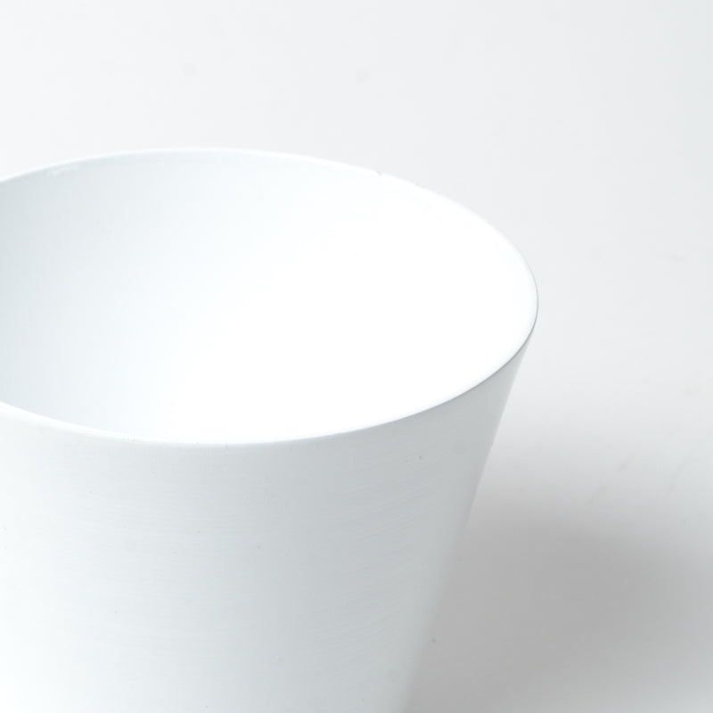 Makr - Tapered Tumbler - White at Unis New York