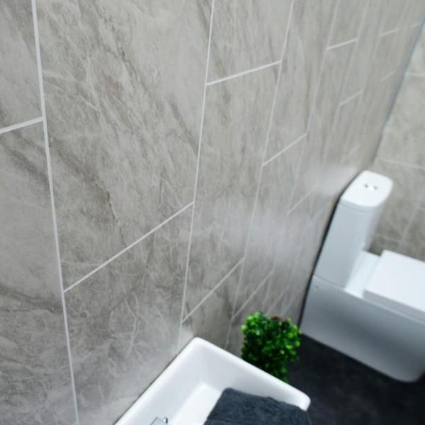 Grey Marble Tile Groove 8mm Tongue And Groove Panels