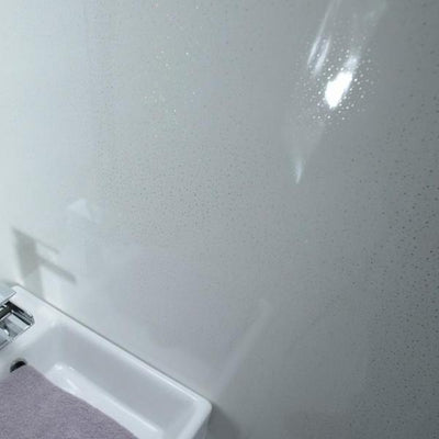 Sample of Platinum Dew 8mm Thick PVC Bathroom Wall Panels