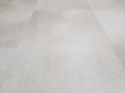 Sample of Colosseum Cream Tile SPC Stone Reinforced Composite Waterproof Flooring 1.86m² (£26.85 per m²)