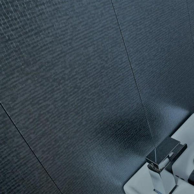 Mineral Montage Dark Grey PVC Textured Bathroom Wall Panels 2.7m x 300mm