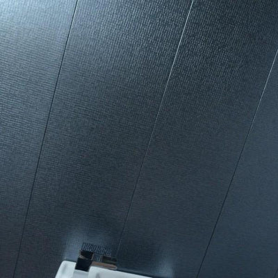 Sample of Mineral Montage Dark Grey PVC Textured Bathroom Wall Panels