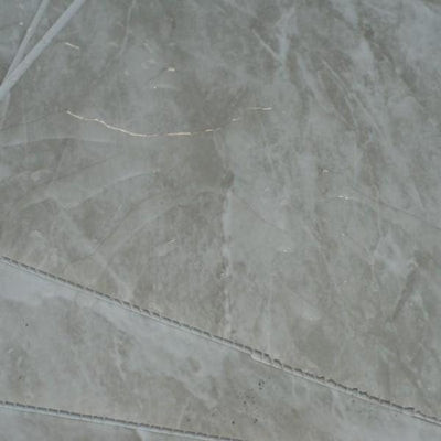 Grey Stone Marble 5mm Bathroom PVC Panels For Walls