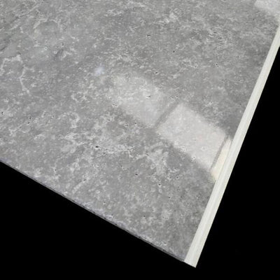 Concrete Grey 10mm Thick Large PVC Shower Boards 1m x 2.4m