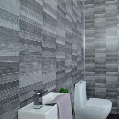 grey-small-tile-wall-panels-for-bathrooms