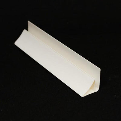 Sample of Coving Trim in White Finish for Cladding Wall & Ceiling Panels.