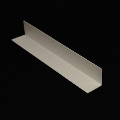Sample of Rigid Angle Corner Trim in White Finish for 10mm Cladding Wall Panels