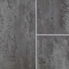 Sample of Anthracite Mist Tile Groove Bathroom Wall Panels 8mm Shower Cladding - Claddtech