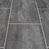 Anthracite Mist Tile Groove Bathroom Wall Panels 8mm Shower Cladding - CladdTech