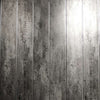Sample of Anthracite Grey Mist & Chrome Bathroom Wall Cladding 5mm Panels 2.6m x 0.25m