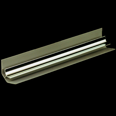 Internal Corner Trim in a Chrome Finish for 8mm Cladding Wall Panels 2.6m Long