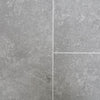Sample of Concrete Grey Tile Groove Bathroom Wall Panels 8mm Shower Cladding - CladdTech