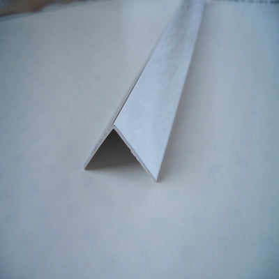 Rigid Angle Chrome Cladding Trims 25mm x 25mm For Bathroom Panels